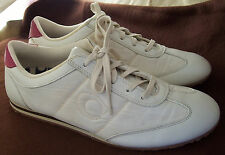 "Coach ""Brandi"" sneakers lace up athletic shoes size 10 M white"