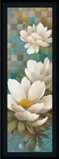 Lily Reflection II Contemporary Floral Framed Art Print Wall Décor Picture