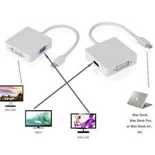 ACT  3-In-1 Mini Display Port to DVI +VGA +HDMI Adapter for MacBook Thunderbolt
