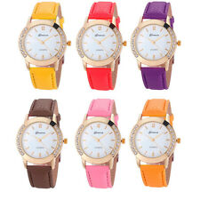 Fashion Watch Geneva Women Diamond Analog Quartz Wristwatches Elegant Low-Priced