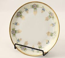 Hand Painted Victorian Plate Favorite Bavaria Signed Gold and Floral
