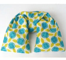 Microwavable Flax Seed Neck Wrap with washable cover - Organic Cotton cute