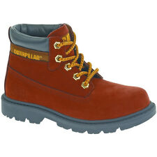 Caterpillar Boys Colorado Leather Boots Red