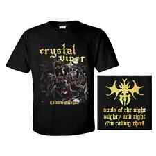 CRYSTAL VIPER T-Shirt 'Crimen Excepta' ♫ Heavy metal ♪ Power metal ♫
