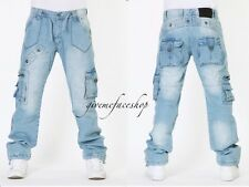 BROOKLYN MINT CARGO RELIGION JEANS, COMBAT URBAN G TIME IS MONEY STAR HIPHOP