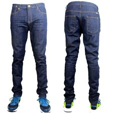 TRUE ZICO SKINNY STRETCH G JEANS, BASIC INDIGO SLIM FIT INDIE MENS STAR DENIM