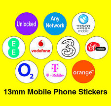 Mobile Phone Network Stickers - T Mobile / Unlocked / Any Network / Vodafone