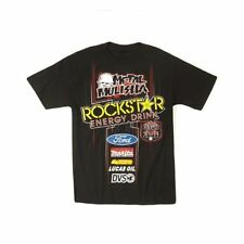 Metal Mulisha men's T-Shirt - DEEGAN PINSTRIPE - schwarz