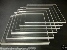 297 x 420mm A3 CLEAR ACRYLIC PERSPEX SHEET PLASTIC COLOURLESS PANELS 2MM TO 25MM