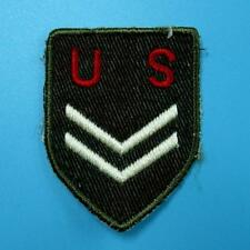 Us Army Rank Insignia Sew on Embroidered Cloth Patch Badge Applique Biker Motor