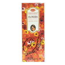 Hem PRECIOUS FLOWER  Incense 6 Hexagon Packs of 20 = 120 Sticks- 1657