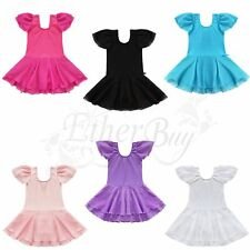 Girl Kids Party Ballet Leotard Tutu Skirt Dance Outfit Skate Dress Child Clothes