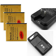 New Li-ion Polymer Internal Battery + Charger For LG Optimus 2X P990 P993 P999