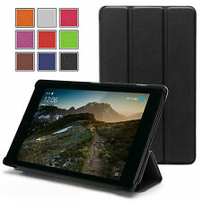 Smart Thin Leather Case Cover For NEW Amazon Kindle Fire 7'' HD 8'' 10''