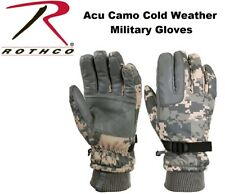 Insulated Gloves Acu Camouflage Waterproof & Insulated Long Winter Gloves 3669
