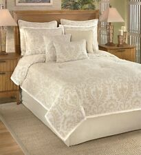 Park B Smith 9 Piece QUEEN Comforter Set PORTSMOUTH Celedon COTTON