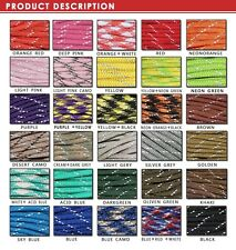 NEW 550 Reflective Paracord Parachute Cord Lanyard 8 Strand Core 25ft 50ft 100ft