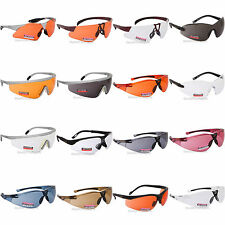 Regatta Cycling Glasses Sports Sunglasses UVA400 Safety Clear Orange Bicycle