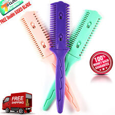 Professional Tinkle Hair Cutter Thinning Shaper Comb 1 Razor Blade Trimmer Cut