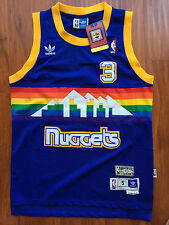 NBA Denver Nuggets Allen Iverson Swingman Sewn/Stitched Jersey NWT
