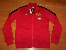 NIKE Manchester United N98 Authentic Men's Track (Aon) Jacket Soccer NWT (M L)