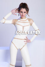 New 100% Rubber Latex Catsuit Costume Sexy Unitard Zentai leotard