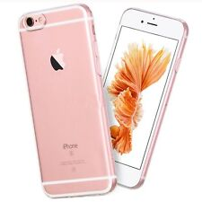 Transparent Clear Glossy Silicone Rubber Case Cover For Apple iPhone 6&6s Plus+