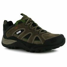 Karrimor Ridge Waterproof Padded Insole Hiking Walking Shoes Lace Up Gents Mens