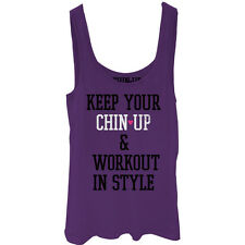 CHIN UP Workout in Style Juniors Graphic Tank Top - Fifth Sun