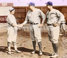 AZ231 Babe Ruth - Lou Gehrig & Verne Mitchell 8x10 11x14 16x20 Colorized Photo