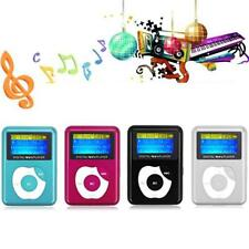 Mini Digital MP3 Music Player LCD Screen Metal Support 32GB Micro SD TF Card NEW