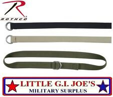 "Web Belt 1.25""W Military D-Ring Expedition Belt Or Lashing Strap 4174, 4275 B"