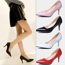 Hot ! New Sexy Womens High Heels Pointed Toe Shallow mouth Stilettos Shoes QQ8