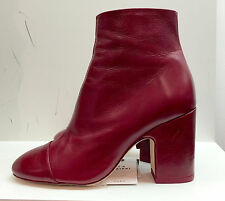 ZARA HIGH HEEL LEATHER ANKLE BOOTS WITH TOE CAP 35-41 Ref.  6126/101