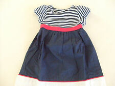 NWT Gymboree BY THE SEASHORE Size 12 18 24 Mos Striped Colorblock Dress