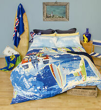 Australia / Surf - Quilt Cover Set - Single, Double, Queen, King - Ardor Home
