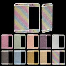Candy Color Front+Back Tempered Glass Film Screen Protector For iPhone 6s Plus