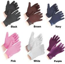 Shires Newbury Pimple Grip Horse Pony Riding Gloves-Adult Childs-All Colours