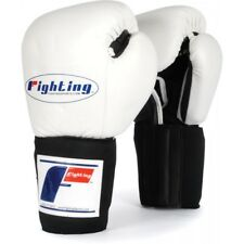 Fighting Sports Tri-Tech Training Sparring Gloves (White/Black)