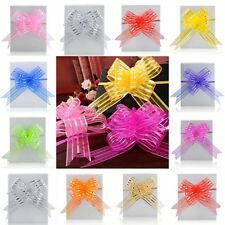 Large 50mm Pull Bows Weddings Party Floristry Wrap Ribbon Many Colour Wholesales