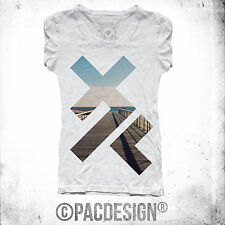 T-SHIRT X PATTERN INDIE HIPSTER SWAG FASHION VINTAGE VINTAGE HAPPINESS DK036