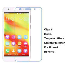 Tempered Glass / Clear / Matte Film Guard Screen Protector For Huawei Honor 6