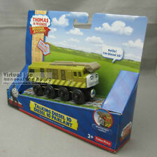 NEW LEARNING THOMAS WOODEN MAGNETIC TRAIN - TALKING DIESEL 10  W/ LIGHT & SOUND
