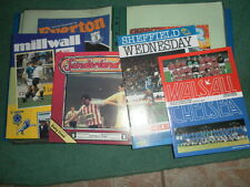 CHELSEA AWAY PROGRAMMES FROM 1984/5 - CHOOSE FROM LIST