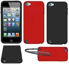 AMZER Silicone Skin Jelly Soft Case Fit Back Cover For iPod Touch 5th 6th Gen