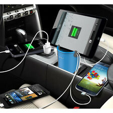 MiLi World Cup Dual USB Car Charger Cradle Storage Box for iPhone Mobile