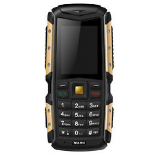 Outdoor Waterproof Dustproof Shockproof Tough IP67 Dual SIM Camera FM Cellphone