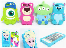 3D Cartoon For iPhone 5/5S 6 Plus 6S Soft Silicone Rubber Skin Back Case Cover