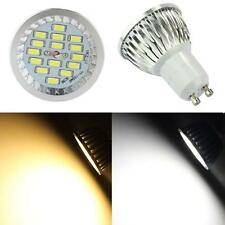 NEW GU10 6W 15 Leds 5730 SMD LED Spot Bulb Lamp Light 600LM AC 85-265V HOT