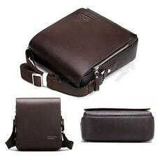 Men Faux Leather Handbag Briefcase Boy Holder Shoulder Bag Messenger Case Bag